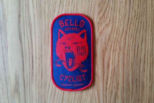 BELLO CYCLIST WOVEN PATCH