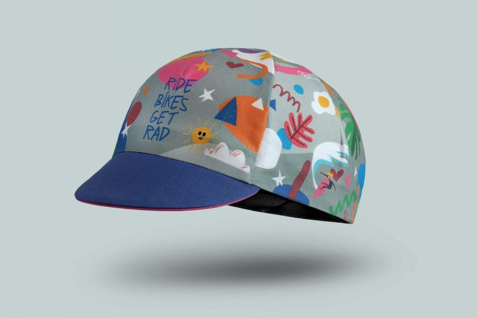 Limited Edition Shred Girls Cycling Cap By Bello Cyclist
