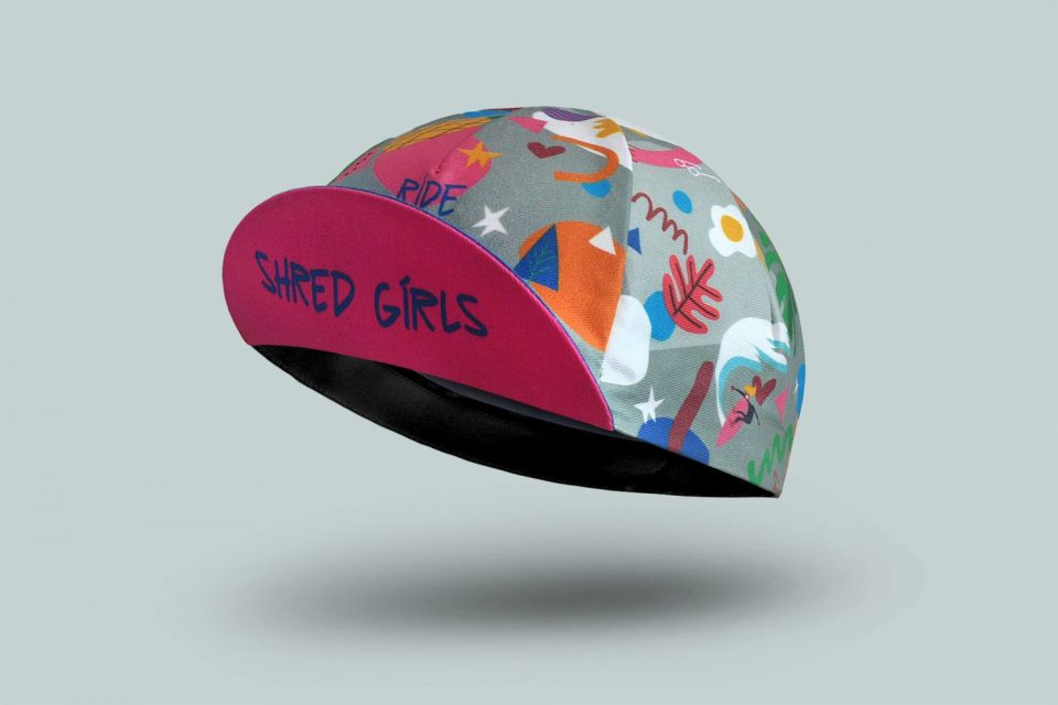 Limited Edition Shred Girls Cycling Cap