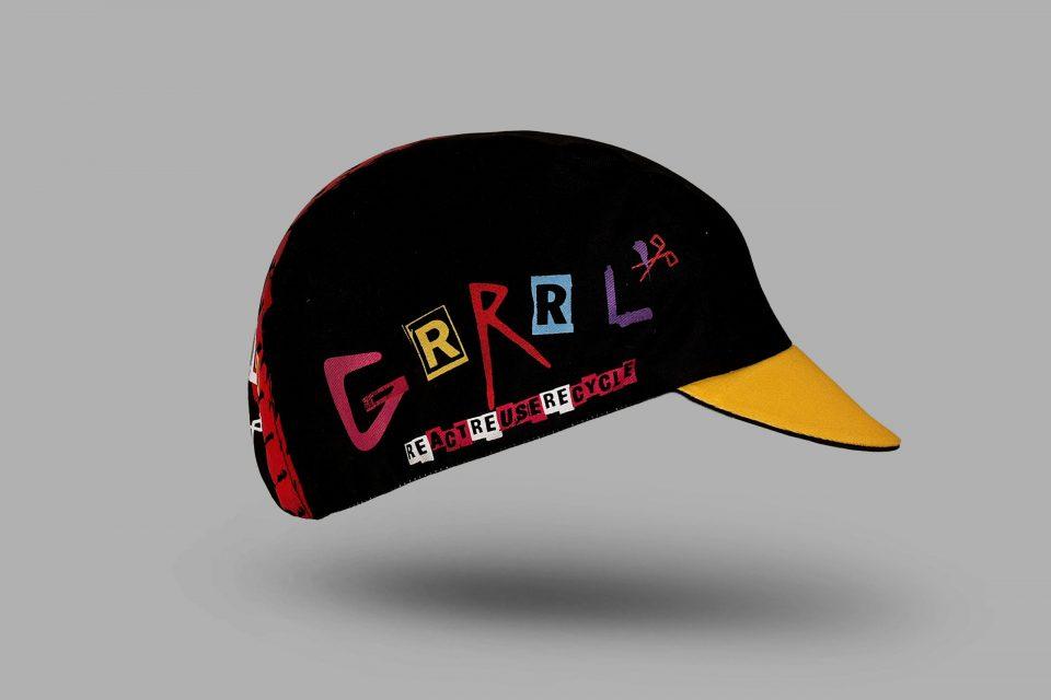 crap cycling cap
