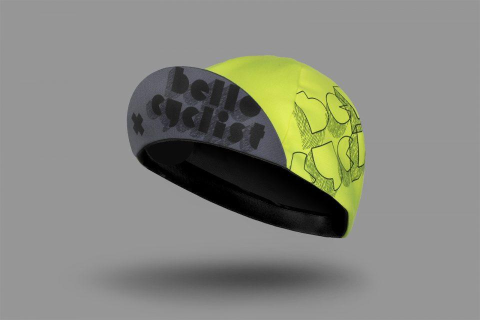 Neo High Visibility Bello Cyclist Cycling Cap